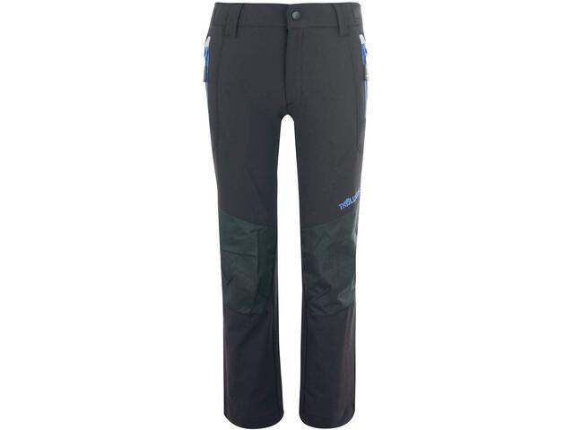 TROLLKIDS Lysefjord Pantalones Niños, anthracite/med blue